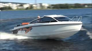 Два катера Белла 620 HT и 620 DC | Тесты катеров с каютой на воде(Катера Белла в новом дизайне красивы, когда стоят на верфи, но на воде, тем более в море, смотрятся куда еще..., 2016-04-07T18:54:27.000Z)