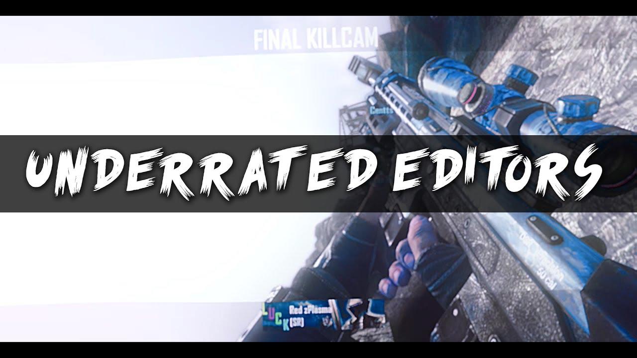 Underrated Editors #1 - Underrated Editors #1