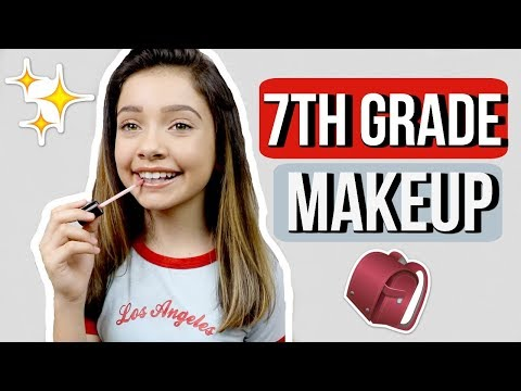 MIDDLE SCHOOL MAKEUP | 7th grade 🎒