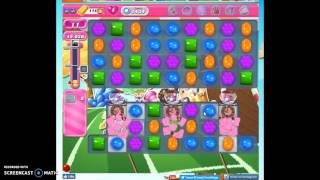 Candy Crush Level 1434 help w/audio tips, hints, tricks