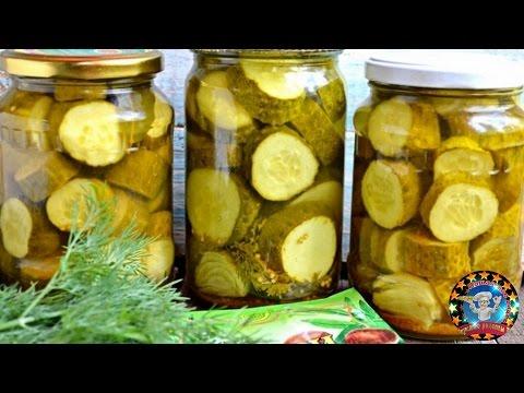 Соленые огурцы с медом