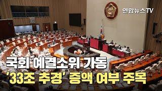 국회 예결소위 가동…'33조 추경' 증액 여부 주목 /…