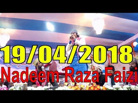 Nadeem Raza Faizi सुरज है लाजवाब ना चंदा है लाजवाब Superb कलामों में से एक