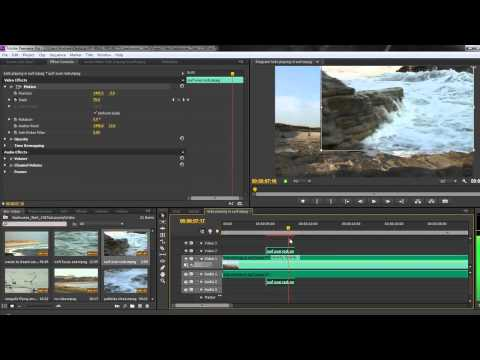 how to create credits in premiere pro cs6