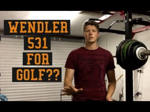Wendler 531 For Golf?! Strength Workout For Power