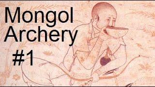 Mongolian Archery Technique Analysis 1# Thumb Draw Side On Horseback