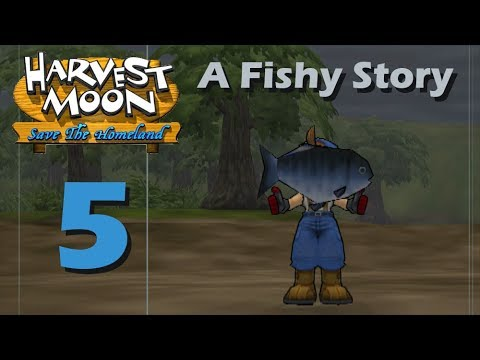 Harvest Moon: Save The Homeland - Episode 5: A Fishy Story
