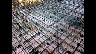 Bausteel.ru Как это сделано - фундамент 440 кв.м. плита с цоколем (гибкаарматуры.рф)