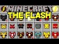 Minecraft THE FLASH MOD! |THE FLASH, ZOOM, SAVITAR, GODSPEED, & MORE! | Modded Mini-Game