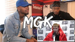 Machine Gun Kelly Freestyle With The LA Leakers | #Freestyle013 - REACTION