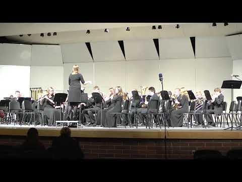Hillcrest Band Concert 2014 Featuring Sandcreek Middle School Band