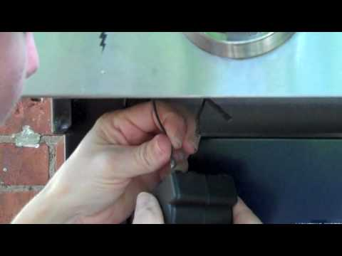 How to install a BBQ ignitor  YouTube