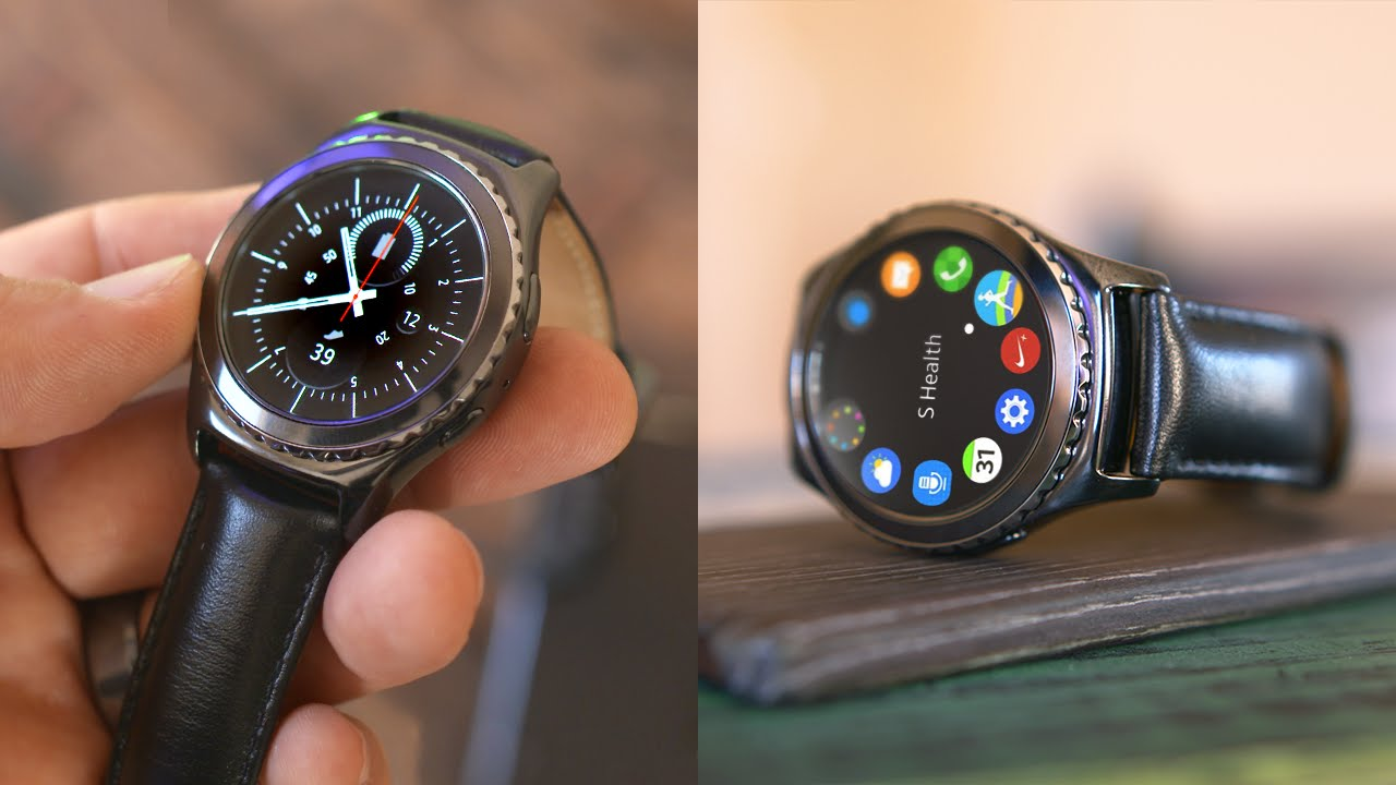 Samsung Gear S2 Classic Review! - YouTube