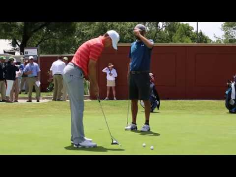 Jordan Spieth's putting practice routine