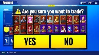 *NEW* How To TRANSFER EVERY SKIN TO ANOTHER ACCOUNT in Fortnite Battle Royale!