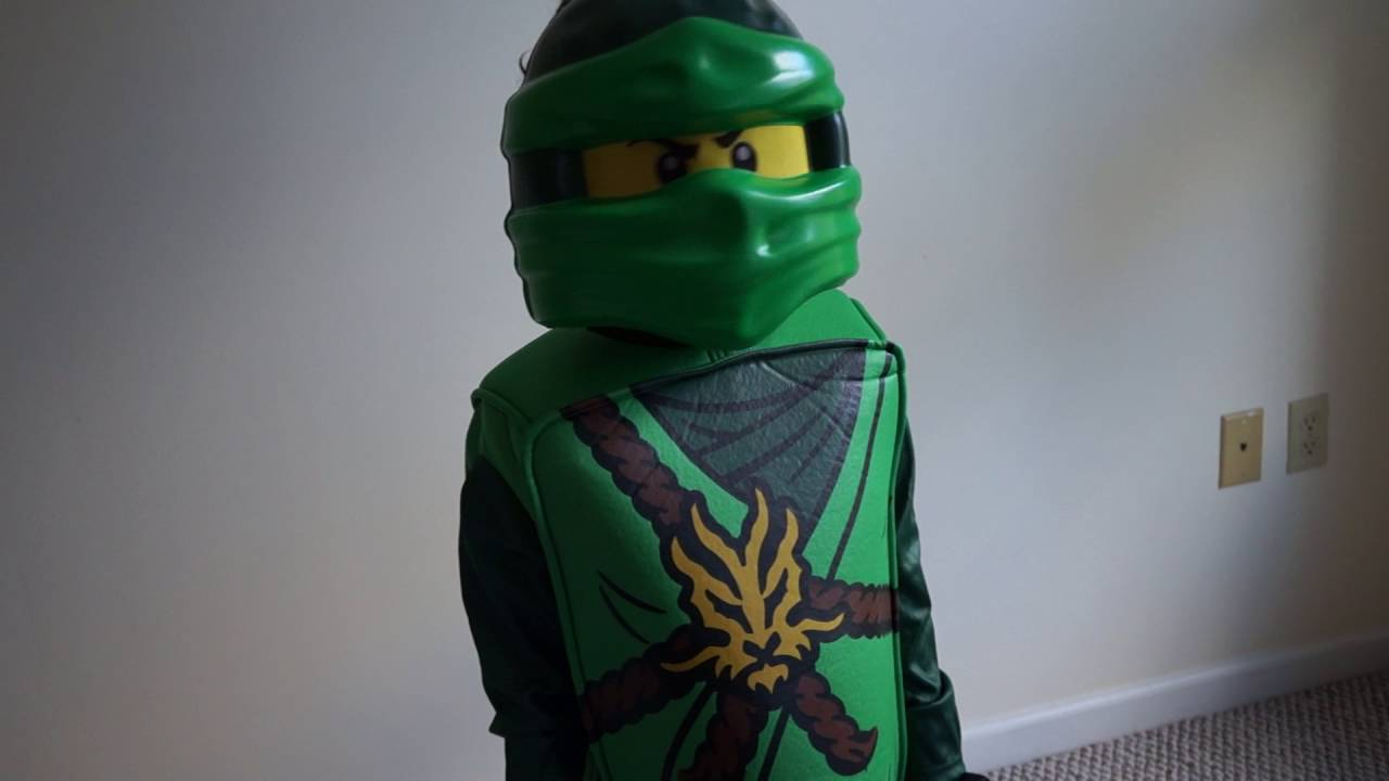 & LEGO Ninjago LLoyd Deluxe Kids Costume - Halloween cosume - YouTube