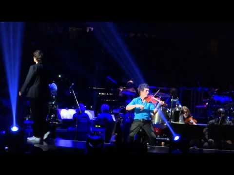 Josh Groban REMEMBER WHEN IT RAINED Duet with Judith Hill Auburn Hills 10/23/2013