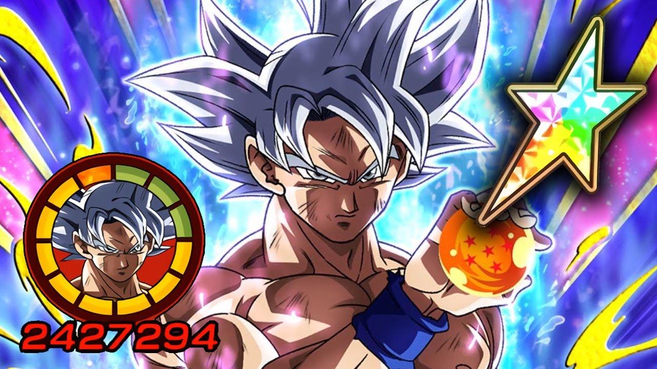 100 F2p Mastered Ultra Instinct Goku Level 10 Links Dragon Ball Z Dokkan Battle Youtube