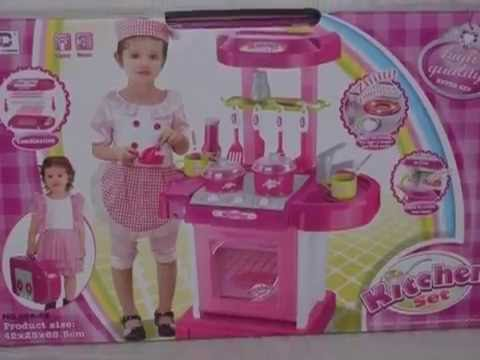 Unboxing Kitchen Playset