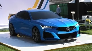 WORLD PREMIERE | Acura Type S Concept Walkaround | Monterey Carweek 2019