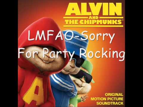 The Chipmunks & The Chipettes - Party Rock Anthem Lyrics