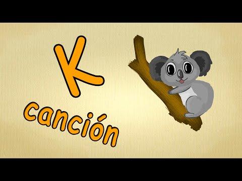 abc alphabet song en español  La letra K Cancion  canciones infantiles
