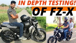 Yamaha FZ-X - Detailed Review!   Most Comfortable 150cc?