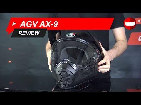 AGV AX-9 Replacement Shield Iridium Silver