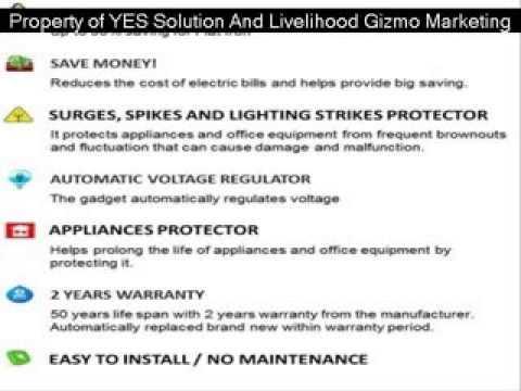 Ybañez Energy Saver (Save Up to 22 to 90%)