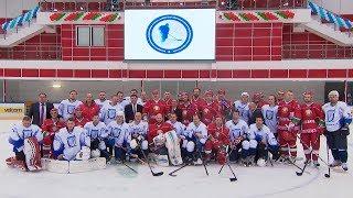 Хоккейная команда Президента Беларуси победила в матче Республиканского любительского турнира