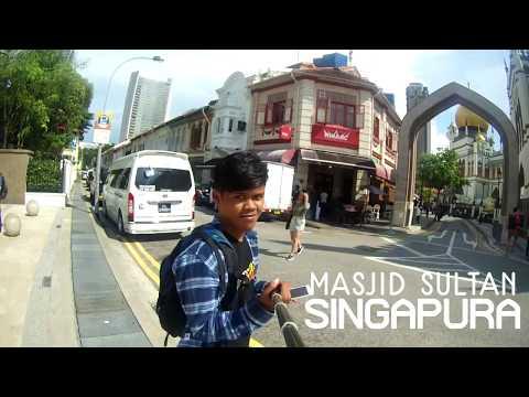 SINGAPORE : Masjid Sultan Kampong Glam & Arab Street