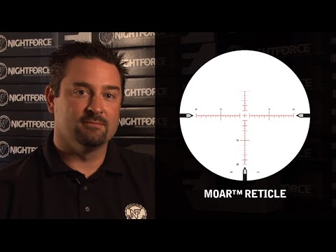 Nightforce Optics MOAR Reticle Overview