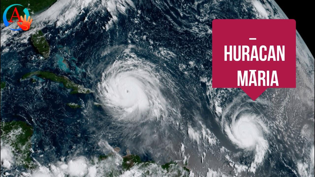 Huracan maria categoria 5 en camino a destruir a puerto - Puerto rico huracan maria ...