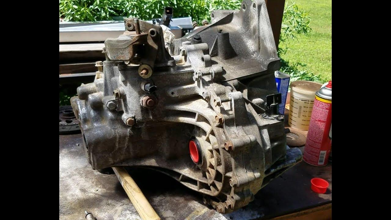 2005 Nissan Altima Clutch Misc 200k Mile Maintenance Part 3 6 Speed Transmission Swap Youtube