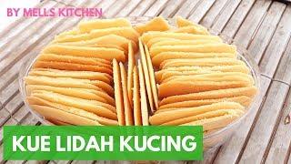 Download Resep kue Lidah Kucing | Enak, Renyah, anti Gagal 👍👍 - Mells Kitchen Mp3
