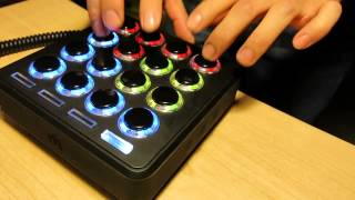 "Playing Jay Z ""A Million & One Questions"" live with a Midi Fighter 3D #2"