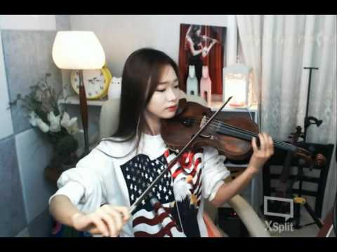 [바이올린세영]Beethoven - Moonlight Sonata Op 27, No 2 Violin.Ver