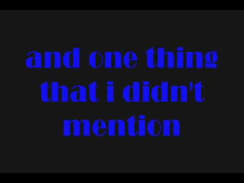 Mishon - Think I Love [Lyrics]