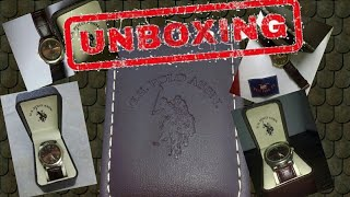 【UNBOXING】 NEW U.S. POLO ASSN. WATCH #SR626SW PC21J