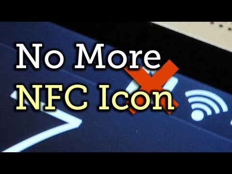 Hide The NFC Icon From Your HTC One's Status Bar (Root Required) [How-To]