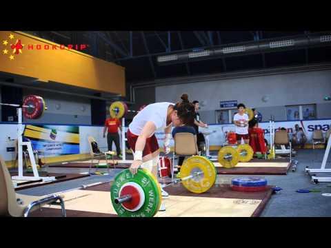 Chinese Team Training on Saturday June 6th - 2015 Junior Worlds Training Hall