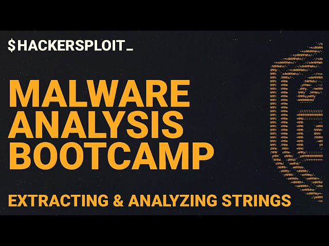 Malware Analysis Bootcamp - Extracting Strings