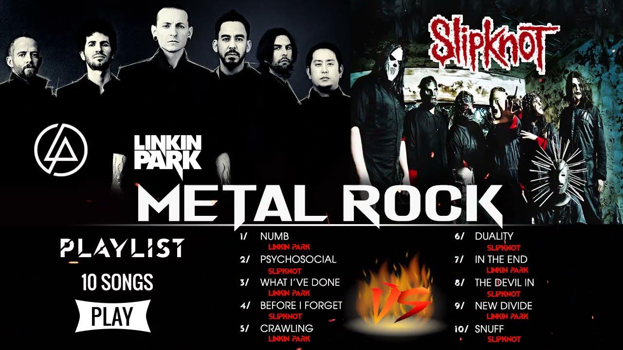 Download Linkin Park VS Slipknot Greatest Hits Full Album 🔥🔥 Best Metal Rock Songs Of 90s 2000s