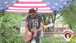 Derek Davis - Resonator Blues: Live at Private Backyard Event in Denver, CO.