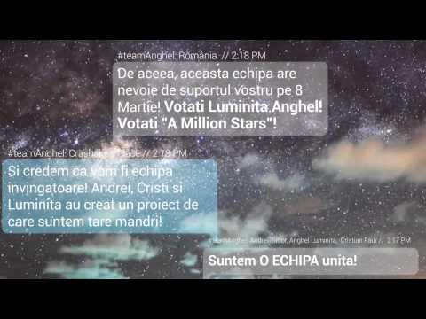 "LUMINIȚA ANGHEL - ""A million stars"" - Fan support"