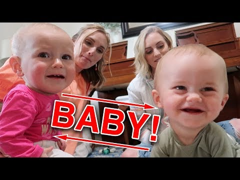 HILARIOUS BABY Meeting 😂 Ellie and Jared