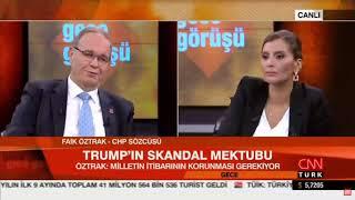 FAİK ÖZTRAK CNN TÜRK 31/10/2019