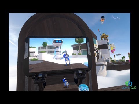 Astro Bot Rescue Mission World 1-1 100% Complete!