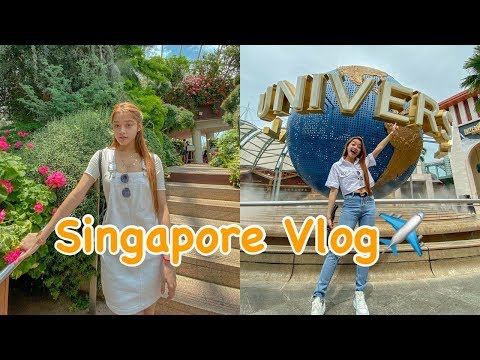 Singapore Vlog + Universal Studio (Part 1)