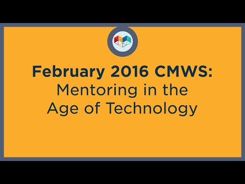 Mentoring in the Age of Technology